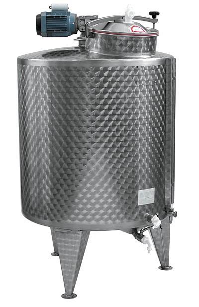 CUVE MVL + mélangeur LENT 600/1000L