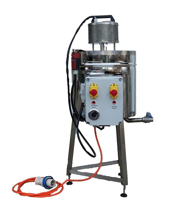 cuve-double-enveloppe-electrique-melangeur-25-litres