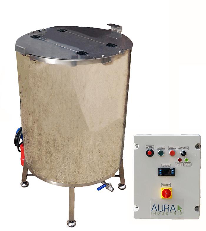 CUVE INOX électrique 90 à 800L - Bain marie EAU - 95°C maxi