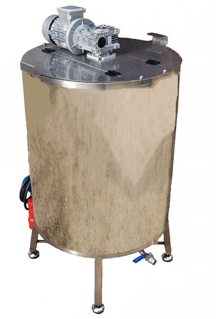 CUVE 90 à 800 L + MELANGEUR + chauffe GAZ