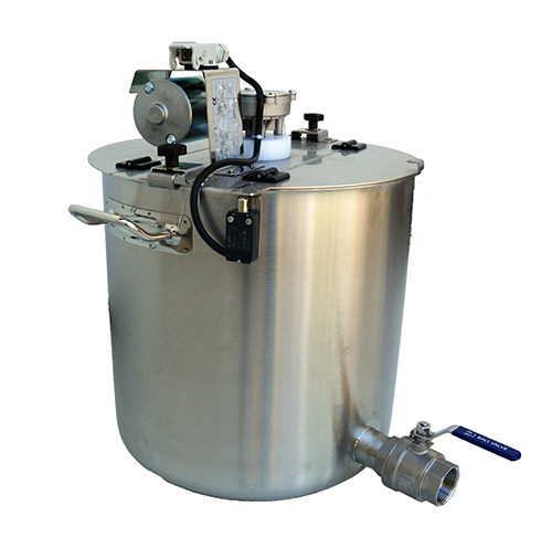 CUVES INOX + MELANGEUR 25 à 800 litres